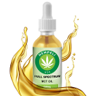 Full Spectrum MCT Oil All natural and organic, 30 ml Bottle with 250 mg CBD