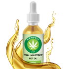 Full Spectrum MCT Oil All natural and organic, 30 ml Bottle with 2500 mg CBD