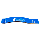 Surgident DispOral Double sided red/blue curved quadrant articulating paper, 72
