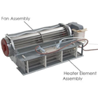 Air Techniques Type Fan Assembly, Models: AT2000, Plus and XR, Fan only, Fan