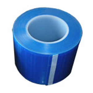 "House Brand 4"" x 6"" Barrier Film, Blue, Roll of 1"