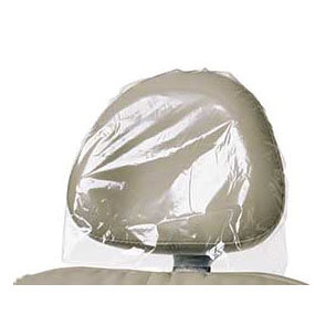 "House Brand 9.5"" L x 11"" W Clear Plastic Headrest"