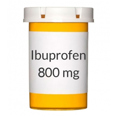 House Brand Ibuprofen Tablets, 800 mg, Bottle of