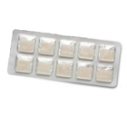 House Brand Topical (CMC) Hemostatic Gauze Dressing size: 1.9 x 1.9cm (.75 x.75 in), 20/box. Made