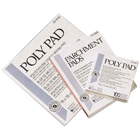 "House Brand 3"" x 6"" Poly Coated Mixing Pad, Single Pad"