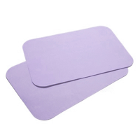 "House Brand 8-1/2"" x 12-1/4"" LAVENDER Ritter ""B"" Paper Tray Cover, Box of 1000"
