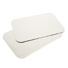 "House Brand 8-1/2"" x 12-1/4"" WHITE Ritter ""B"" Paper Tray Cover, Box of 1000"