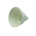 "House Brand Dry Oral Cup, 4"" diameter x 4-1/2"" high, Each. White Autoclavable"