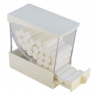 House Brand WHITE Deluxe Cotton Roll Dispenser, Drawer type. Easy to use