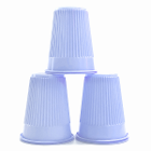 House Brand Lavender 5 oz. Plastic Cups, Case of