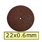 House Brand Cut Off Wheels 22 x 0.6 mm, Box of 100