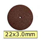 House Brand Cut Off Wheels 22 x 3.0 mm, Box of 100
