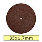 House Brand Cut Off Wheels 35 x 1.7 mm, Box of 100