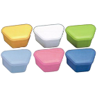 House Brand Denture Boxes, Assorted, Box of 10