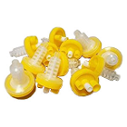House Brand Dynamic Mixing Tips, Yellow. Package of 50