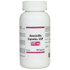 House Brand Amoxicillin 500 mg, Bottle of 100 Capsules