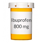 House Brand Ibuprofen Tablets, 800 mg, Bottle of 500 Tablets
