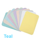 "House Brand 8-1/2"" x 12-1/4"" TEAL Ritter ""B"" Paper Tray Cover, Box of 1000"