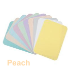 "House Brand 8-1/2"" x 12-1/4"" PEACH Ritter ""B"" Paper Tray Cover, Box of 1000"