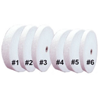 House Brand Heatless Grinding Wheels - White #3, 25 x 2.4 mm, 50/Box. Non-contaminating, use