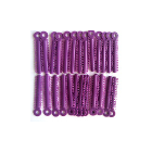 House Brand Ligature Ties Purple 1040/Bag