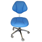 House Brand Doctor Stool, Ultra stable base, Adjustable height, for right or left (STOOL-0001MB)