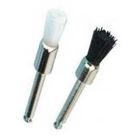 House Brand Prophy Brushes, Fits all straight handpieces, Flat brushes, box