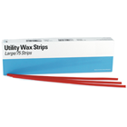 House Brand Utility Wax Strips - Small, Red, Box of 114 Strips