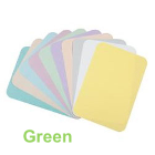 "House Brand 8-1/2"" x 12-1/4"" GREEN Ritter ""B"" Paper Tray Cover, Box of 1000"