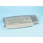 "House Brand Keyboard Cover Sleeves 10"" x 24"", Box of 500"