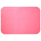 "House Brand Patient Bibs PINK 13"" x 18"" 2-Ply Paper/1-Ply Poly 500/Cs. Plain"