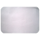 "House Brand Patient Bibs WHITE 13"" x 18"" 2-Ply Paper/1-Ply Poly, Plain"