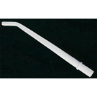 "House Brand 1/16"" White Disposable Surgical Aspirating Tips 25/Pk"