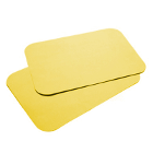 "House Brand 8-1/2"" x 12-1/4"" YELLOW Ritter ""B"" Paper Tray Cover, Box of 1000"