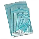 "House Brand 3.5"" x 5.5"" Self-Sealing Sterilization Pouch, Paper/Blue-Green Film"