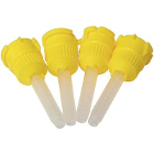 House Brand Yellow T-Style Mixing Tips, Small 4.2mm, 48/Pk. Shorter T-Style