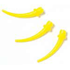 House Brand Intra-Oral Tips, Yellow 100/Bag. Fits 4.2 mm mixing tips