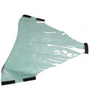 Marus Type Toe Board Cover for Marus DC1690 and DC11535 Patient Chair. Plastic