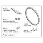 Midmark Type Midmark M11 Maintenance Kit, Includes: 1 Door Gasket, 1 Dam