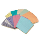 "Premium Polyback Aqua Patient Bibs plain rectangle (13"" x 18"") Polyback 3 Ply"