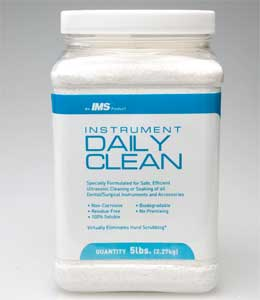 IMS Daily Clean chemical cleaner and instrument p