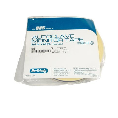 IMS Autoclave Monitor Tape Surgery, 60 Yards roll