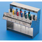 IMS Endodontic stand, hinged, double-lid with a ruler, holds up to 24