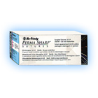 "Perma Sharp 3/0, 18"" Silk Black Braided non-absorbable suture"
