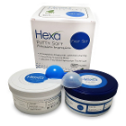 Hexa VPS Putty Soft - Fast Set, Mint, 290 mL each Base & Catalyst. Precision