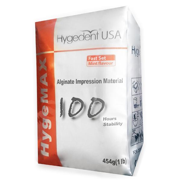 HygeMAX Alginate Impression Material - 1 Lb bag  100 Hrs Stability, mint