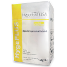 HygePLUS Orthodontics Alginate - Fast Set, 1 Lb bag. Mint flavored, Yellow