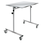 "Hygitech Bridge Table with Adjustable Height. Tray size: 23.5""x 35.5"", Height"