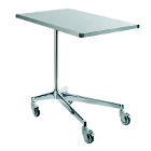 "Hygitech Mayo Table with Adjustable Height. Tray Size: 28.75""x18.5 x1"", Height"