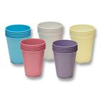 iSmile Beige 5 oz. Plastic Cups 1000/Case. Double coating for increased